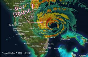 Hurricane Matthew Hits Hometown Of Artist Vincent Autenrieb